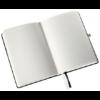 Kép 1/7 - Jegyzetfüzet LEITZ Style A/5 80 lapos sima szaténfekete