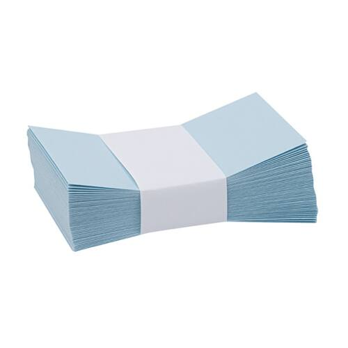 Névjegyboríték színes KASKAD enyvezett 70x105mm 72 azúr kék 50 db/csomag
