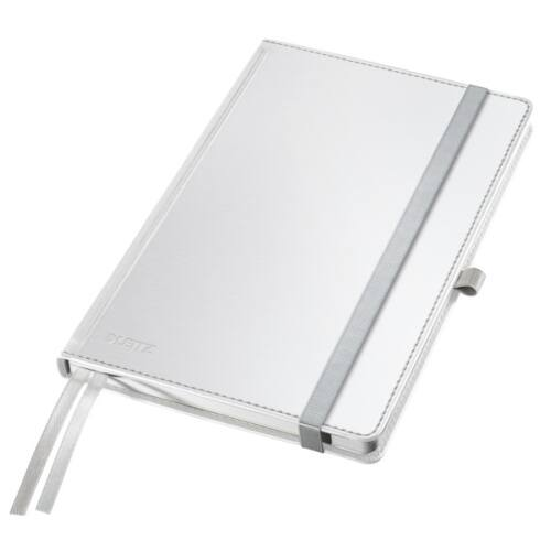 Jegyzetfüzet LEITZ Style A/5 80 lapos kockás fehér