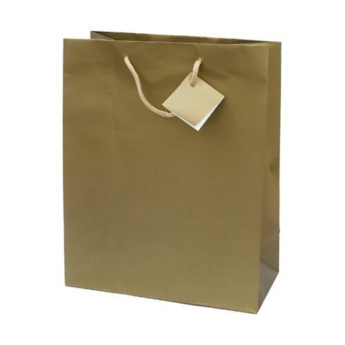 Ajándéktasak Special Simple M 18x23x10 arany