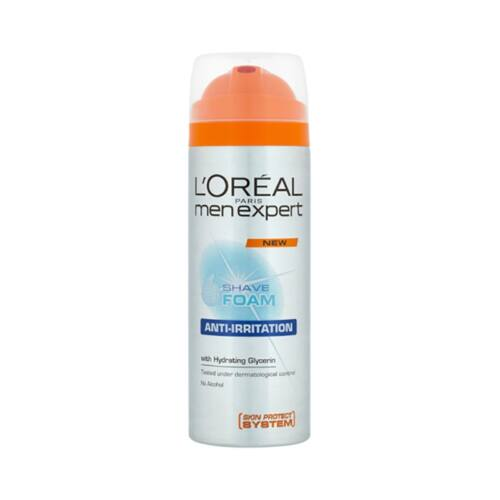 Borotvagél L`OREAL Anti-Irritation 200 ml