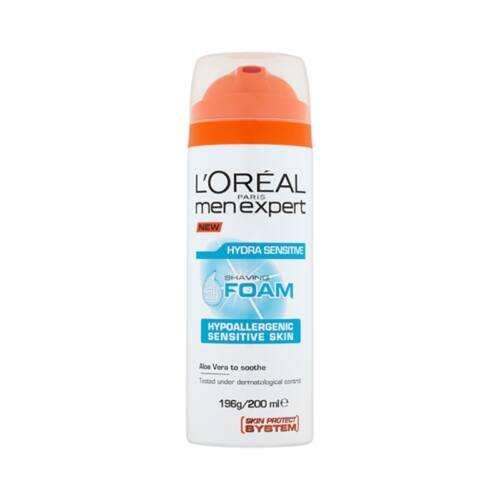 Borotvahab L`OREAL Men Expert Hydra Sensitive 200 ml