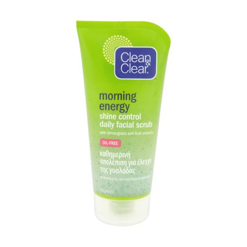 Bőrradír CLEAN & CLEAR Morning Energy citromfű és gyümölcskivonat 150 ml