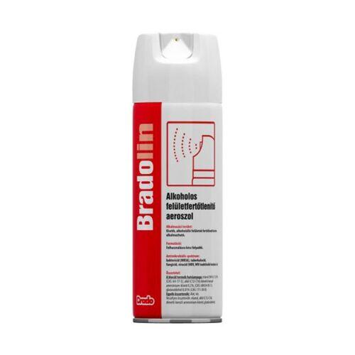 Felületfertőtlenítő alkoholos BRADOLIN 500 ml aerosol