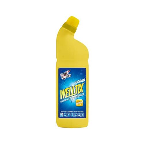 Fertőtlenítő WELL DONE Welltix lemon 1 liter