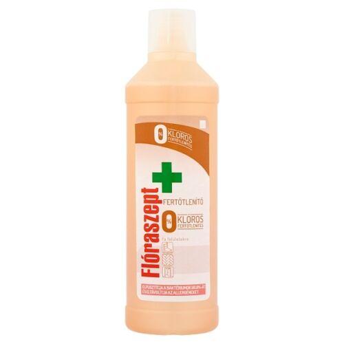 Fertőtlenítő tisztítószer FLÓRASZEPT 0% klór Fa felületekre 1 l