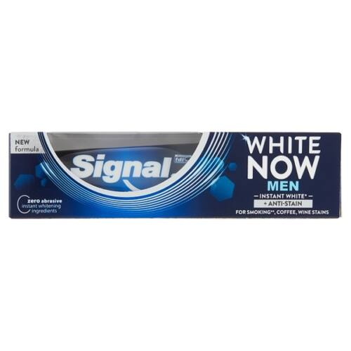 Fogkrém SIGNAL White NowMen SP 75ml