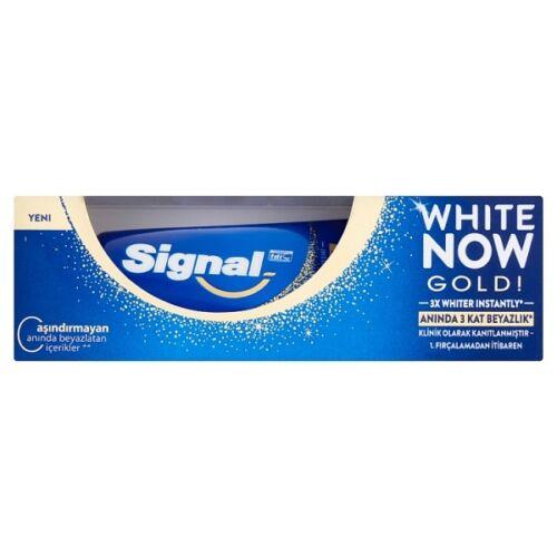 Fogkrém SIGNAL White Now Gold Triple Power 50ml