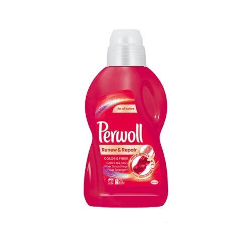 Folyékony mosószer PERWOLL Color & Fiber színes ruhákhoz 900 ml