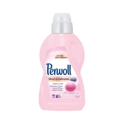 Folyékony mosószer PERWOLL Wool & Delicates gyapjú-és kímélő ruhákhoz 900 ml