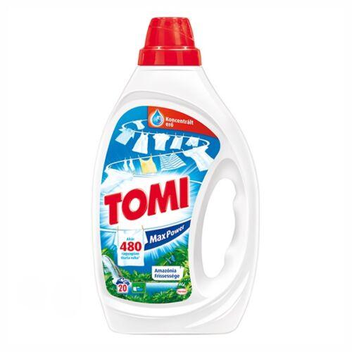 Folyékony mosószer TOMI Max Power Color színes ruhákhoz amazónia 2 liter