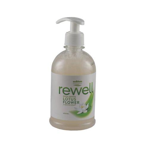 Folyékony szappan pumpás WELL DONE REWELL Lotus Flower 400 ml
