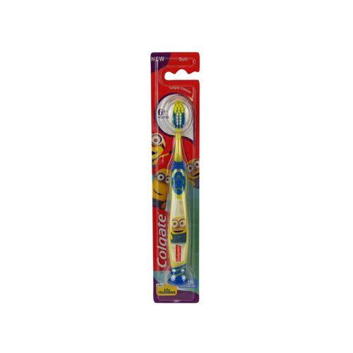Gyerek fogkefe COLGATE Minions soft 6 éves kortól