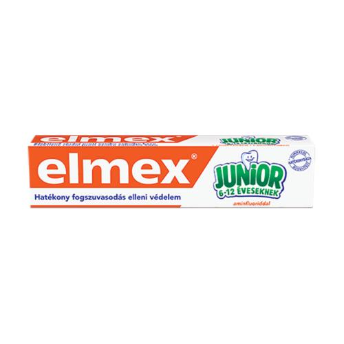 Gyerekfogkrém ELMEX Junior 6-12 éveseknek 75 ml