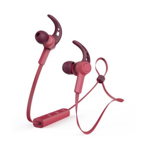Headset vezeték nélküli HAMA Connect sztereó Bluetooth piros