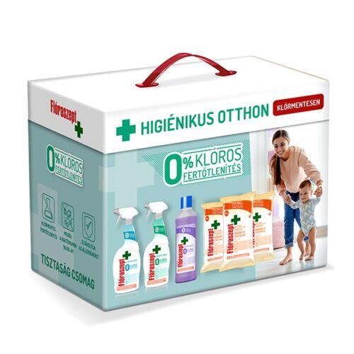 Higiéniai csomag FLÓRASZEPT 0% klór 6 termék