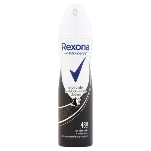 Izzadásgátló deo REXONA Invisible Black&White 150ml
