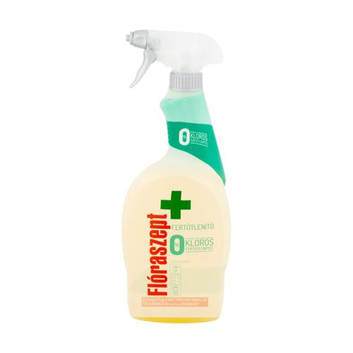 Fertőtlenítő spray FLÓRASZEPT 0% klór Univerzális 700 ml